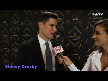 Sidney Crosby at the 2019 NHL awards red carpet