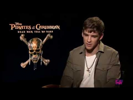 Brenton Thwaites talks about 'Pirates of the Caribbean 5'