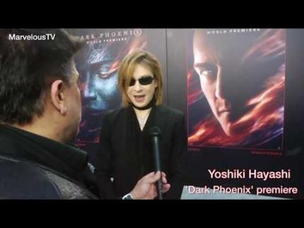 """""""YOSHIKI Hayashi"""" at the 'Dark Phoenix'"""