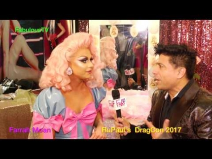 Farrah Moan at RuPaul's DragCon 2017 FabulousTV