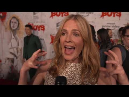 The Boys Elisabeth Shue red carpet Interview
