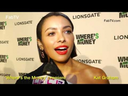 Kat Graham at the 'Where's the Money' premiere  on FabulousTV