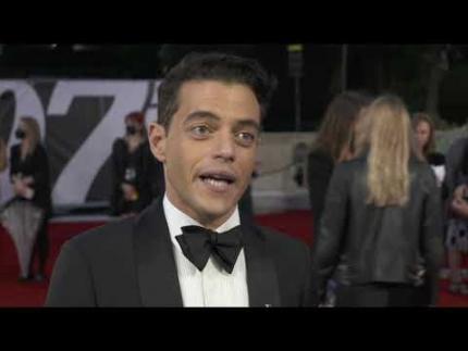 Rami Malek - No Time To Die - premiere & red carpet
