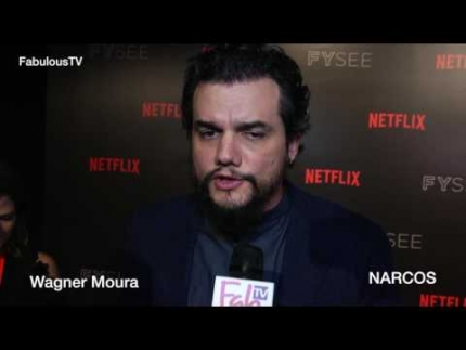 Wagner Moura talks about 'NARCOS' on FabulousTV