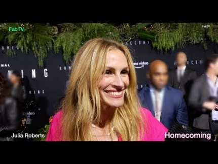 "Julia Roberts at the ""HOMECOMING""  Premiere"
