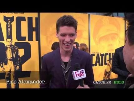 """CATCH 22""  premiere with Pico Alexander"