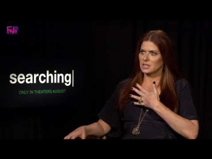 """Searching"" Debra Messing details the film aspects"