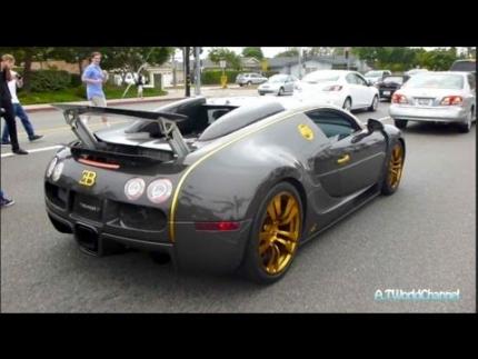 CRAZY Mansory Bugatti Veyron Vincero Acceleration & Sound! Crazy...
