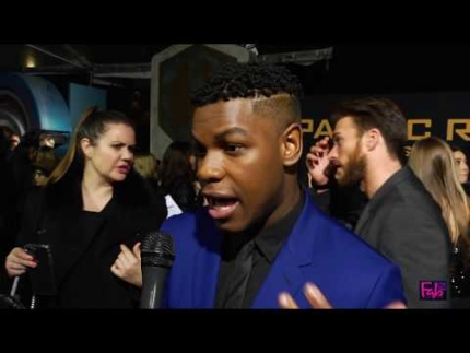 John Boyega at the 'Pacific Rim' 'Uprising' Global Premiere