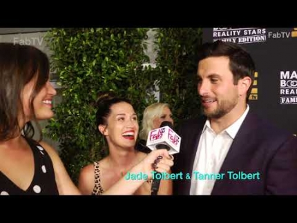 "Jade Tolbert & Tanner Tolbert  ""Marriage: BOOT CAMP""  red carpet"