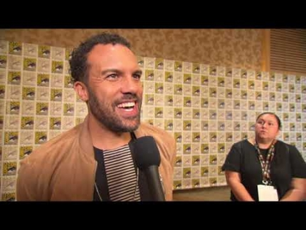 """O.T. FAGBENLE""  COMIC CON 2019  ""Black Widow"""