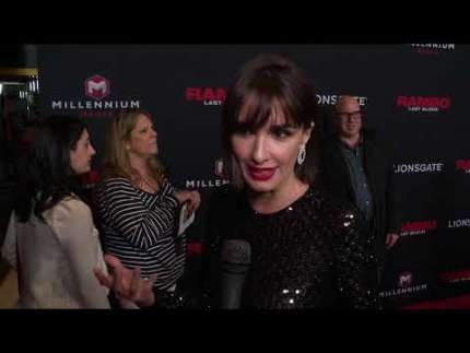 Paz Vega at Rambo: Last Blood premiere