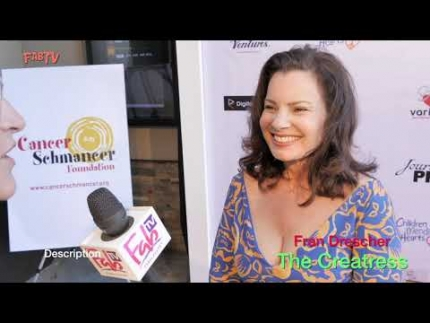"Fran Drescher at her Los Angeles  premiere  ""The Creatress"""