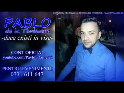 Pablo de la Timisoara - Daca existi in vise 2014 (live original)
