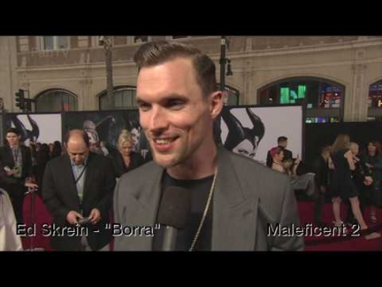 "Ed Skrein ""Borra""  @ Maleficent: Mistress of Evil   World Premiere"