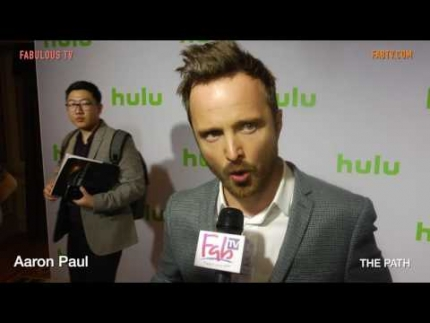 Aaron Paul talks about 'THE PATH' on FabulousTV
