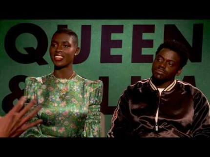 """Queen & Slim"" Daniel Kaluuya & Jodie Turner-Smith"