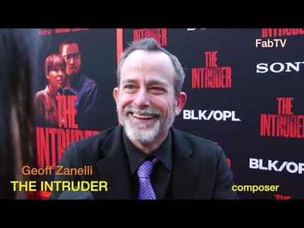 "Master composer 'Geoff Zanelli'  at ""THE INTRUDER""  premiere"