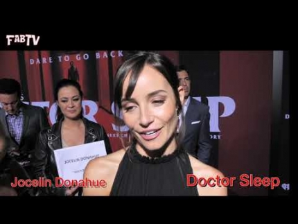 "The ""Doctor Sleep"" premiere with 'Jocelin Donahue' who plays 'Lucy'"