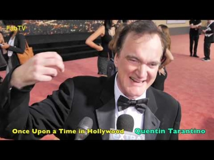 Director: Quentin Tarantino at 'Once Upon a Time in Hollywood' Premiere