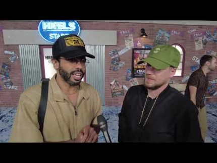 "Daveed Diggs and Rafael Casal at the ""HEELS"" premiere."