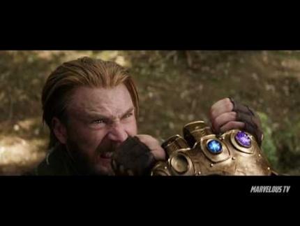 Avengers: Infinity War Anthony Mackie Winston Duke & Sebastian Stan