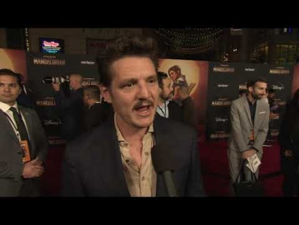 "Actor Pedro Pascal ""THE MANDALORIAN"" world premiere"