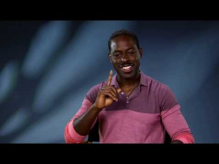 "Sterling K.Brown talks about ""FROZEN 2"""