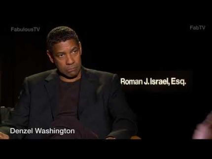 Denzel Washington stars as 'Roman J.Israel, Esq.' on FabTV
