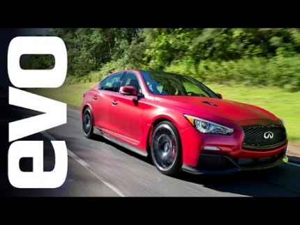 Infiniti Q50 Eau Rouge - the \'GT-R saloon\' | evo REVIEW