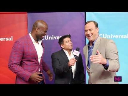 """American Ninja Warrior"" hosts Akbar Gbajabiamila & Matt Iseman"