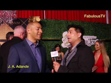 ESPN's J.A. Adande at 'Maxim Hot 100' Party!  FabTV
