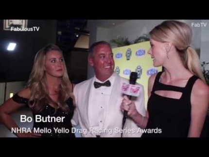 Bo Butner at the 'NHRA Mello Yello' Drag Racing Series Awards