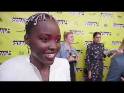 "Lupita Nyongo at the ""US"" Red Carpet at SXSW Film Festival 2019"