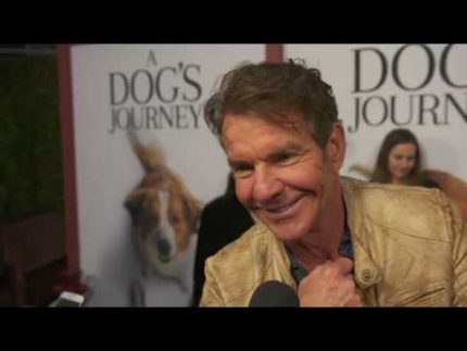 """A Dogs Journey"" premiere with Dennis Quaid"