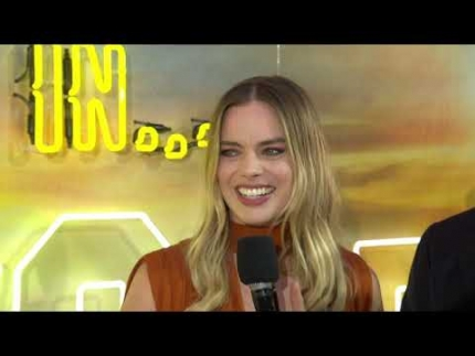 """Once Upon A Time In Hollywood""   Premiere London Group cast"