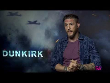 Tom Hardy describes DUNKIRK what the heck???