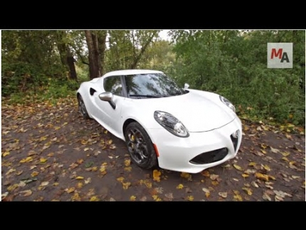 2015 Alfa Romeo 4C: Motor Authority Best Car To Buy 2015