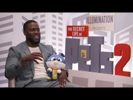 """Secret Life of Pets 2"" with  Kevin Hart"