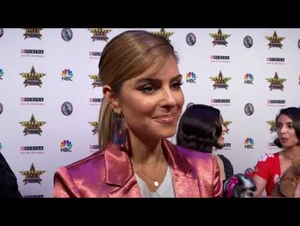 "Maria Menounos talks about her doggies at ""The Beverly Hills Dog..."