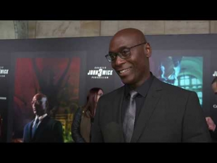 "Lance Reddick  ""JOHN WICK 3"" special screening & RED..."