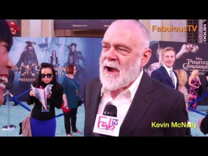 Kevin McNally at 'Pirates of the Caribbean 5'on FabulousTV