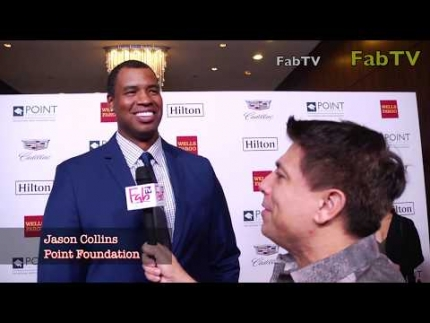 Jason Collins at the POINT Foundation event  2018