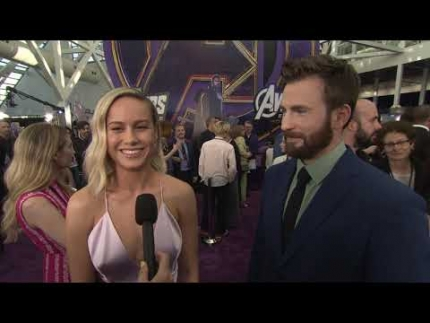Avengers Endgame  PREMIERE with CHRIS EVANS AND BRIE LARSON