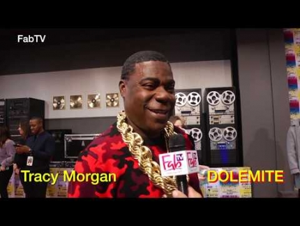 "Tracy Morgan shines at the ""DOLEMITE""  world premiere"