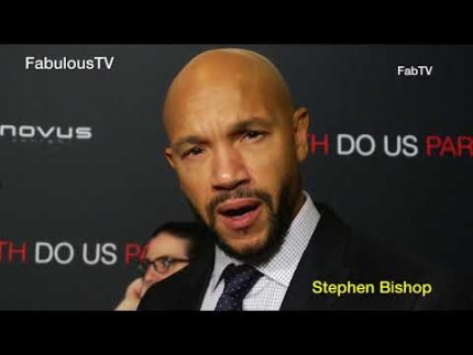 "Stephen Bishop star of ""Til Death Do Us Part""  on FabulousTV"
