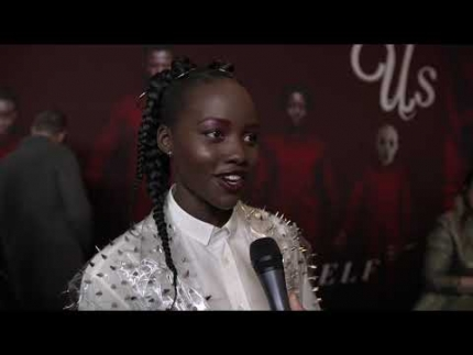 "Lupita Nyong'O at the ""US"" Red Carpet Us NYC Premiere"