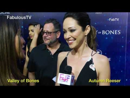Autumn Reeser reveals 'Valley of Bones' on FabulousTV
