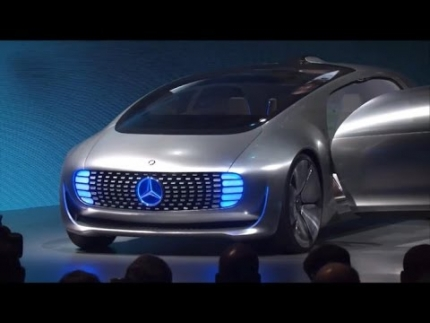 Mercedes unveils its car of the future