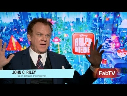 "John C. Riley ""Ralph Breaks the Internet"" on the art of..."